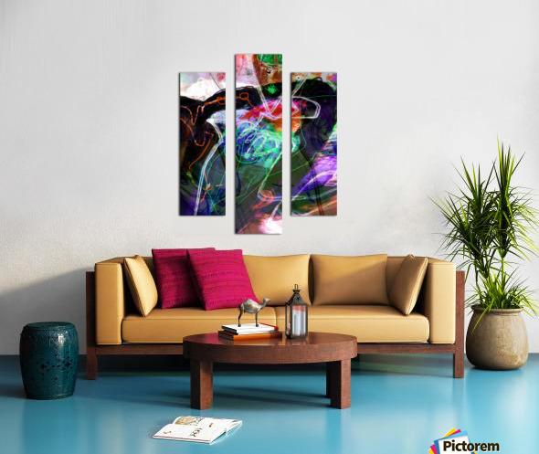 A Z E A Canvas print