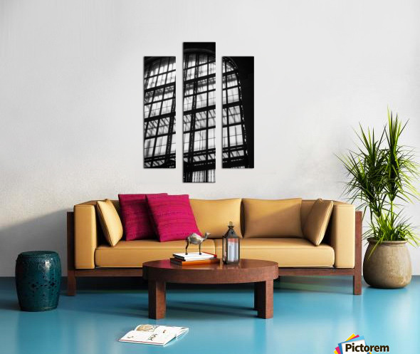 Between Dimensions Canvas print