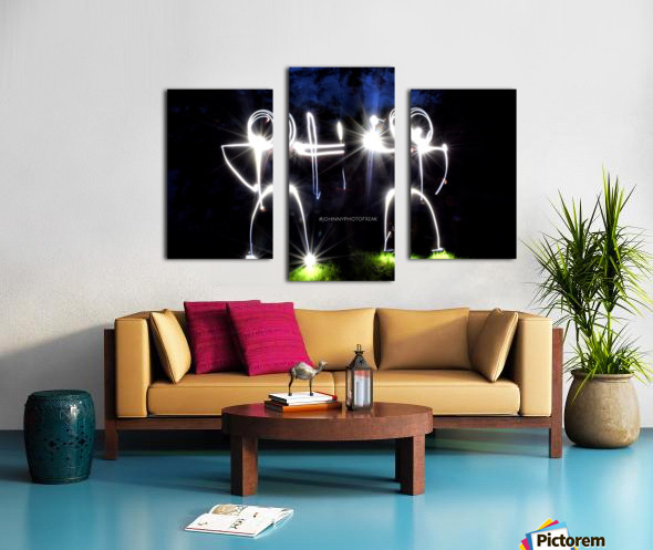 Stickman Bro  Canvas print