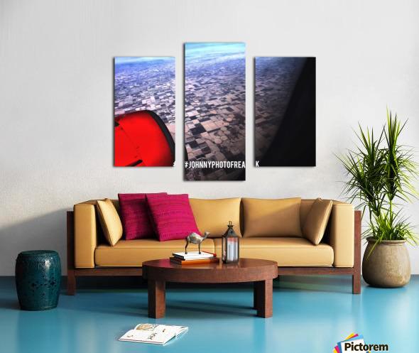 OUR WORLD Truman View Canvas print