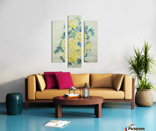 Illusions Canvas print