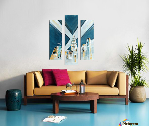 Metropolis III Canvas print