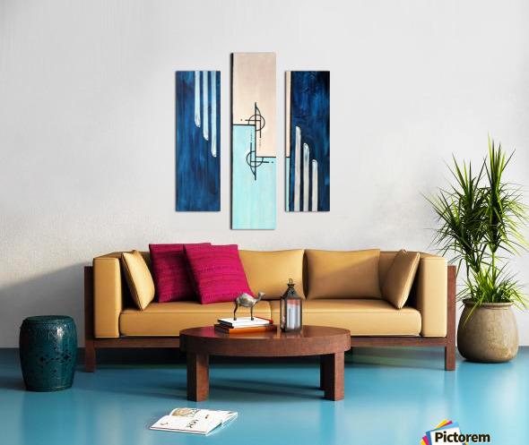 Moonshine XIV Canvas print