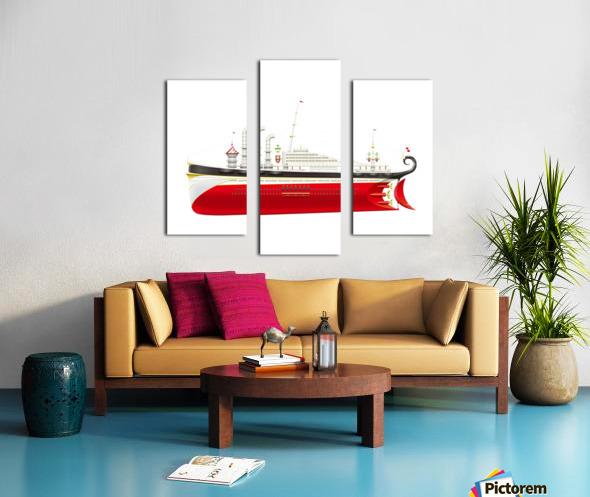 Crocciere Olympikus Canvas print