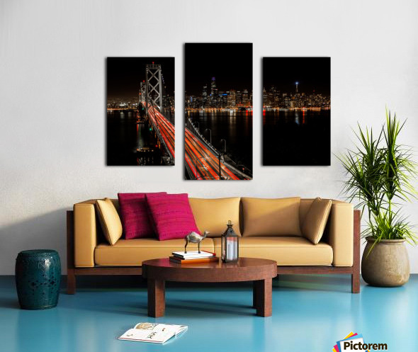 Sinner City Canvas print