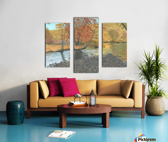 Two Rivers - Newtown Series 18X24 Canvas print