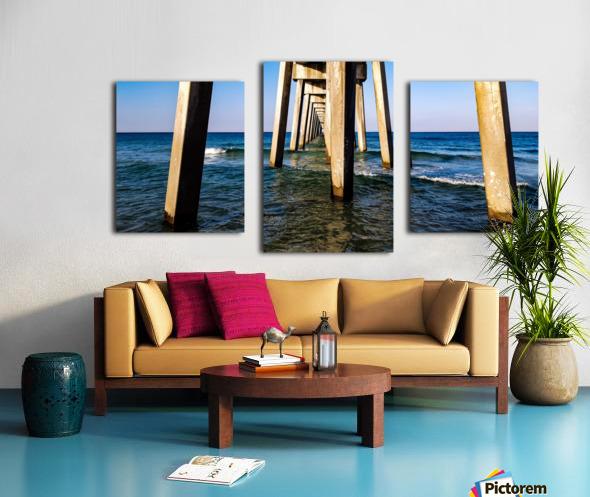 Good Morning Pier Canvas print