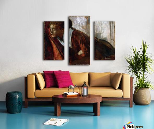Melancholy by Degas Canvas print