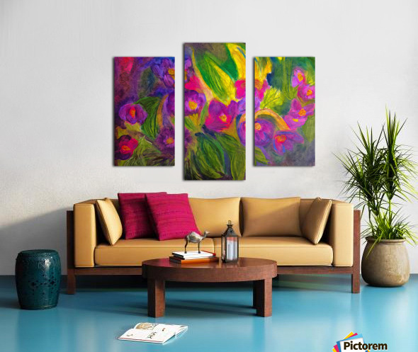 Purple Favorites Canvas print