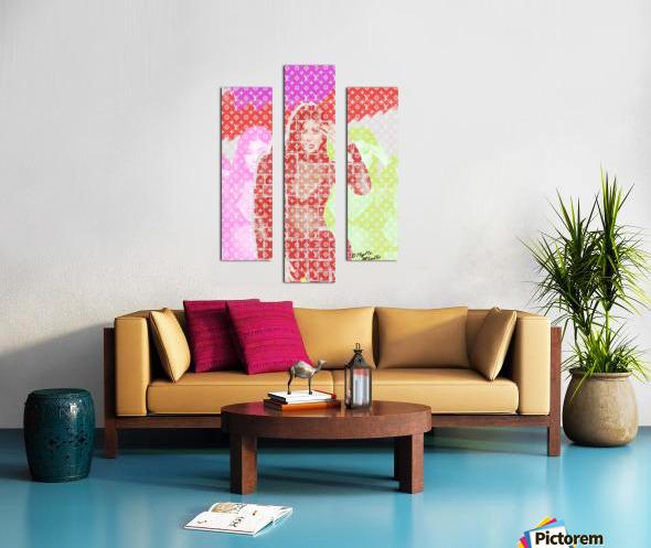Celebrity K Canvas print