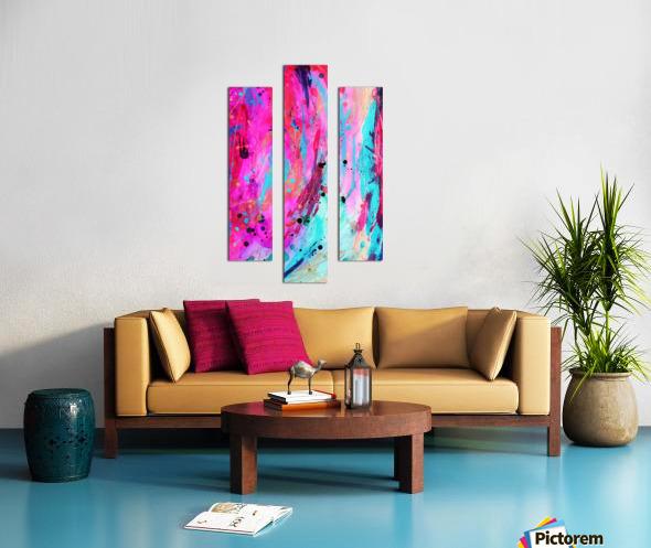 Stream of Life Canvas print
