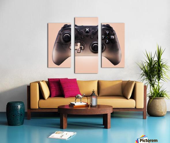Gaming Controller v3 Canvas print