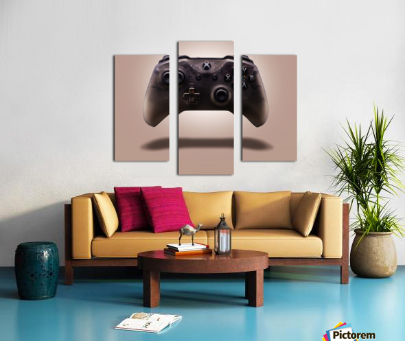 Gaming Controller v1 Canvas print