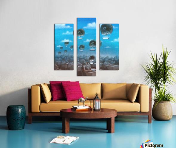 odloty Canvas print