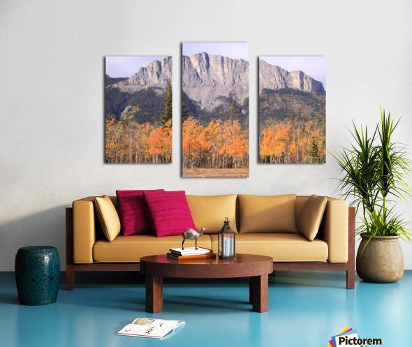 Yamnuska In Fall IMG_3238_1  Canvas print
