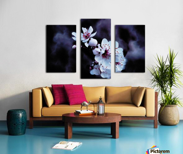 Night Flowers Canvas print