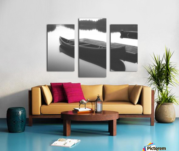 Tranquility BW Canvas print