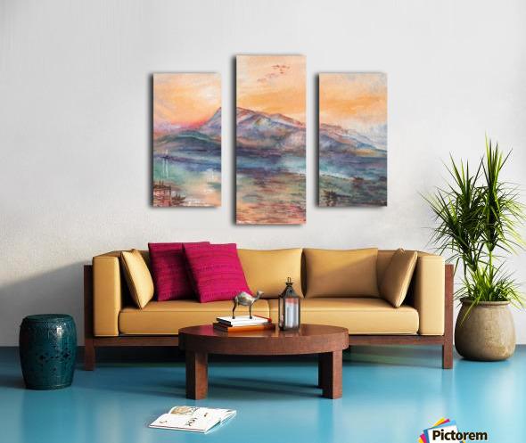 Mount Rigi Switzerland Lake Canvas print