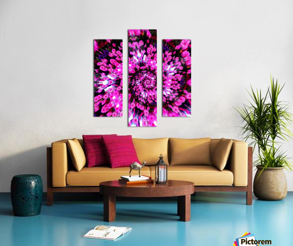 Getting Lost in Pink Canvas print