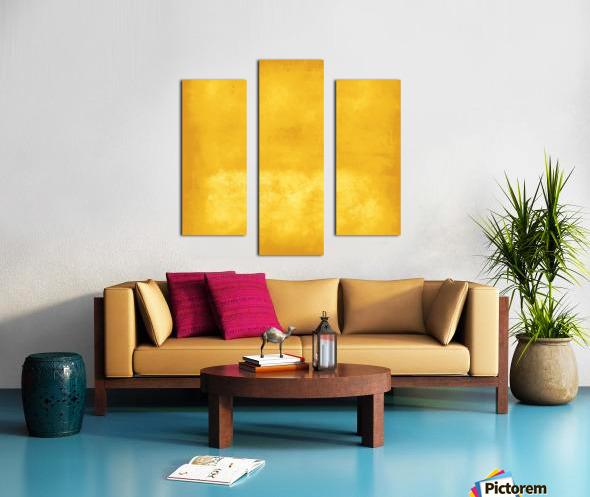 Yellow 44 Canvas print