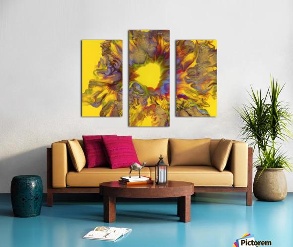 Fire Bloom  Canvas print
