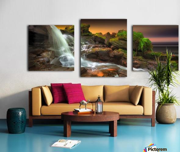Melincourt Brook Canvas print