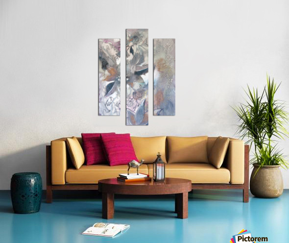 Riverton Wallpaper Panel I Canvas print