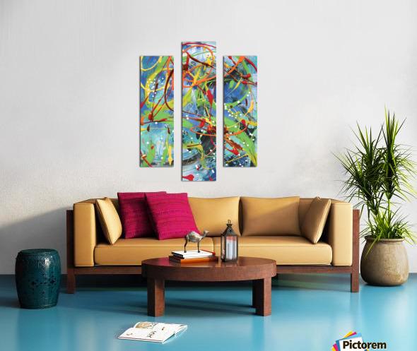 Colour Carnival II Canvas print