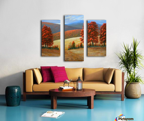 Autumns Glory Canvas print