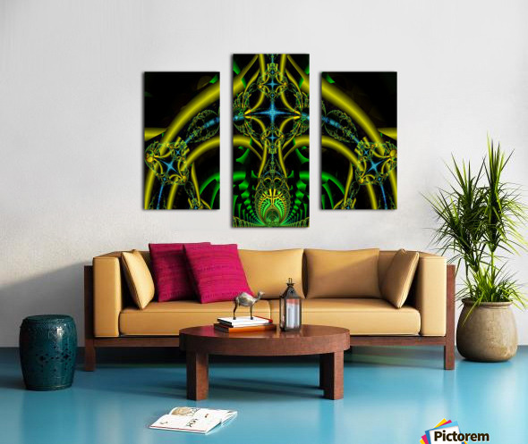 Trifunctional  Canvas print