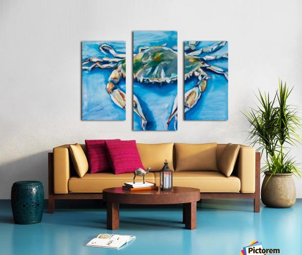 Louisiana He Soft Shell Crab Canvas print