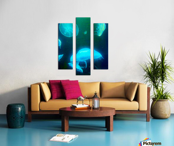 Venture into the Abyss Canvas print