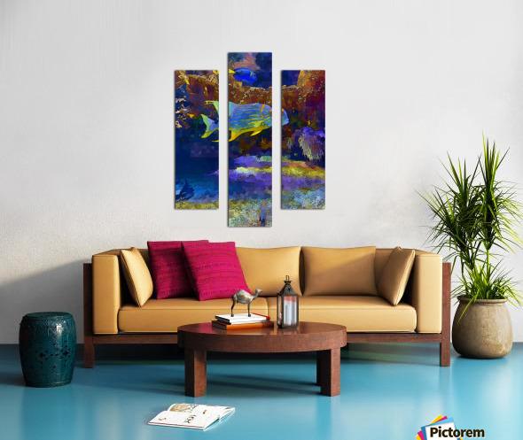 Venture into Unknown Canvas print