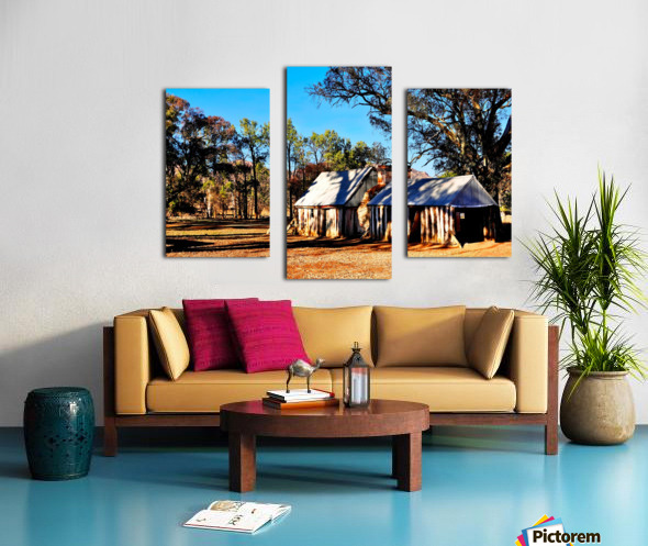 Old Wilpena Station  Canvas print
