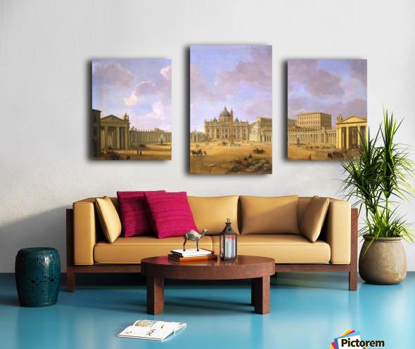 Stichting Vrienden Canvas print