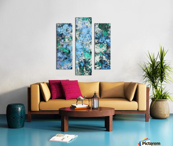 Big water Canvas print