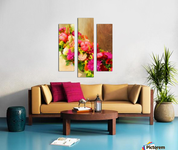 BTA6 - FLORALS AND BOTANICALS Canvas print