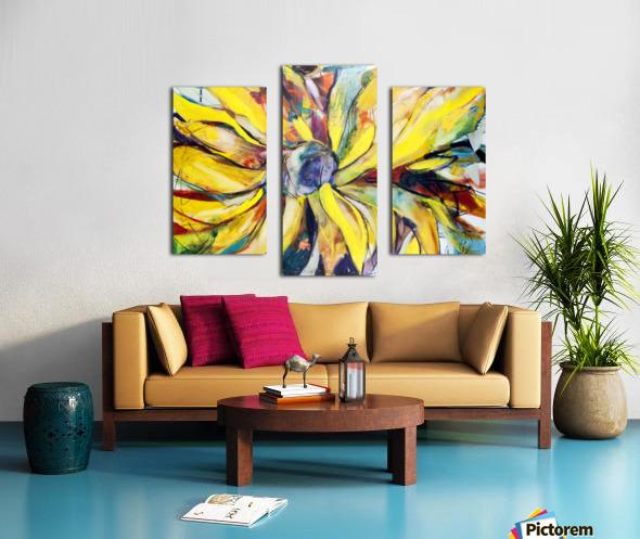 Louisiana Sunflower II Canvas print
