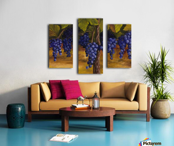 On The Vine Canvas print