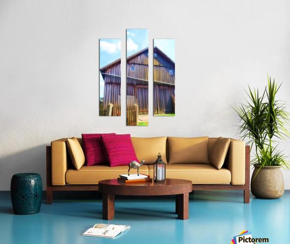 FMB2 - FARM LIFE Canvas print