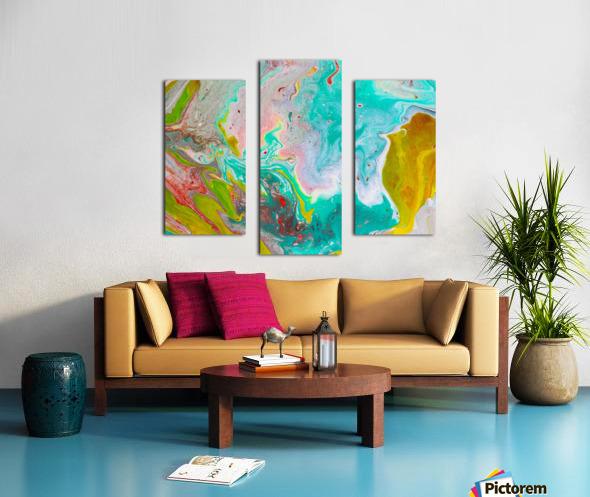 unTeal Canvas print