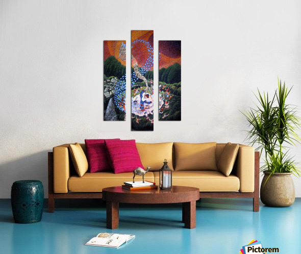 1990 029 Canvas print