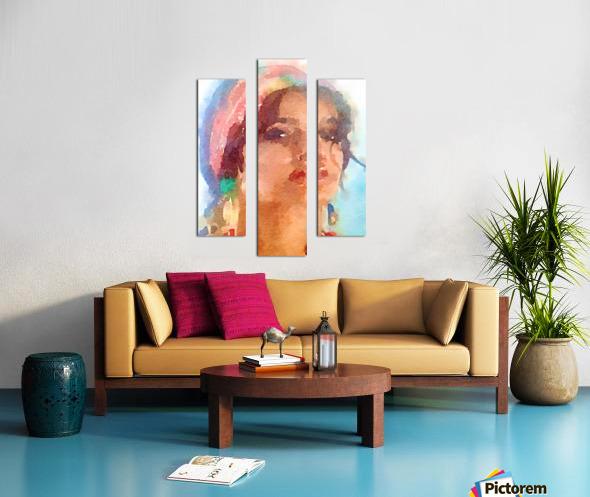 Esmeralda Canvas print