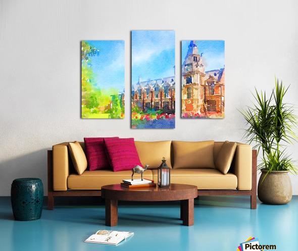 Pembroke collegeCambridge Canvas print
