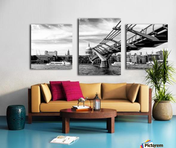River Thames - London city skyline Canvas print