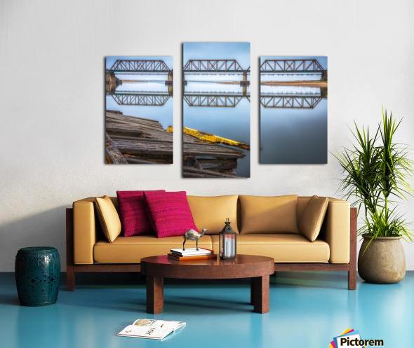 Double pont Impression sur toile