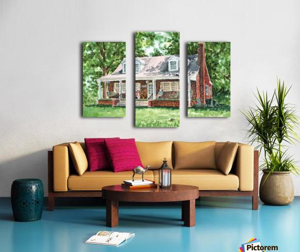 East Coast Summer Canvas print