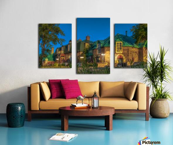Maison William Wakeham Impression sur toile