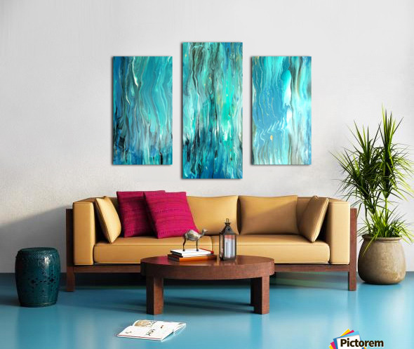 Ocean Ripple Canvas print