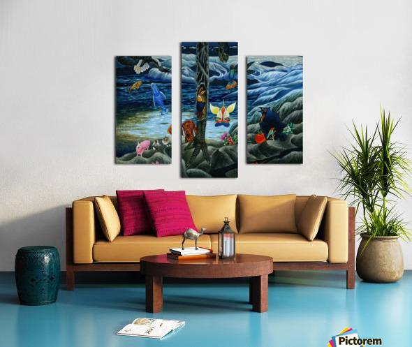 2000 025 Canvas print